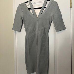 EUC bebe bandage bodycon dress